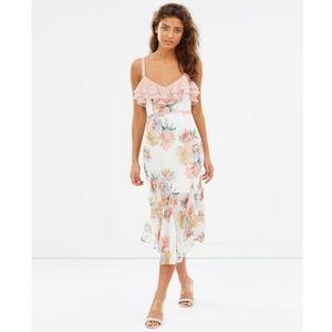 NWT La Maison Talulah Darcy Midi Floral Dress